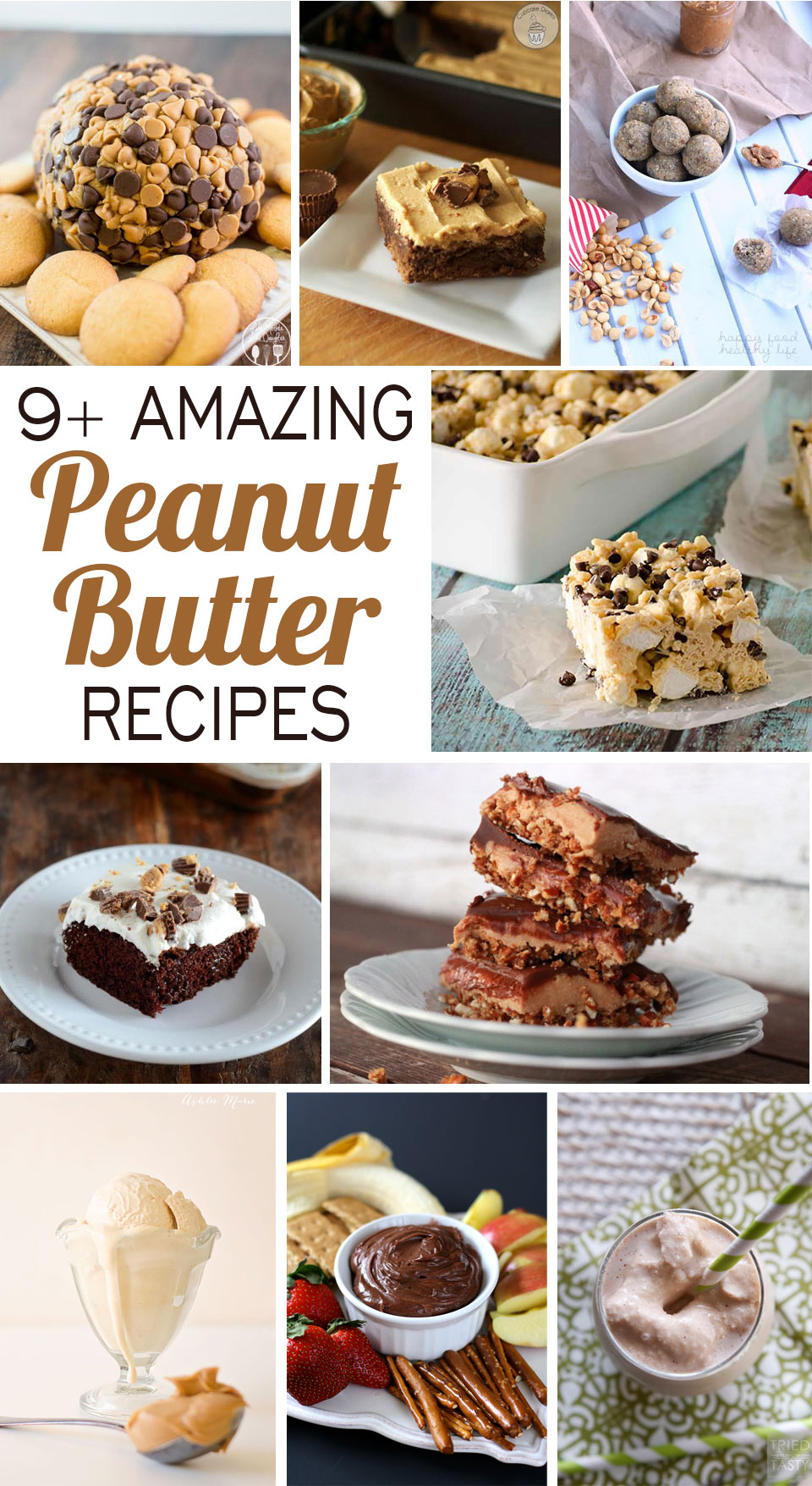 nine amazing peanut butter recipes, perfect for national peanut butter day
