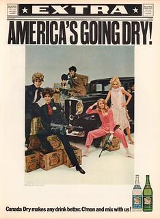 1967 Canada Dry Advertisement Life December 22 1967