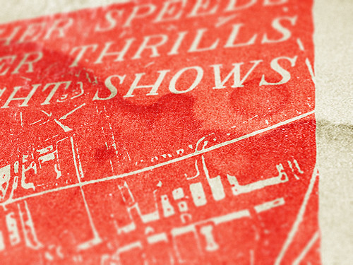 A gritty, vintage airshow poster design tutorial - Detail
