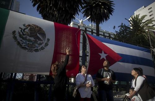 Más cubanos pasan por México