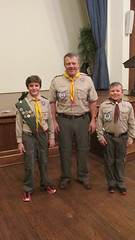 Rye Troop 2 NY, Scout presentation to Cubs