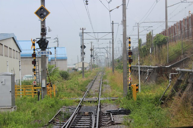 新幹線と近江鉄道の隣接具合【景観補償関連】 (1)