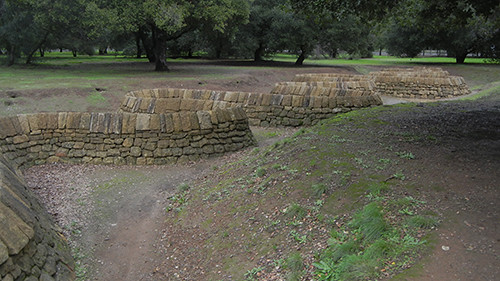 DSCN9061 _ Stone River, Andy Goldsworthy Installation, Stanford University