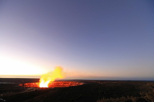usa sunrise canon stars landscape volcano hawaii astrophotography volcanonationalpark thebigisland 5dmkiii photosbymch