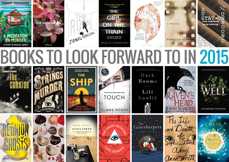 Books to look forward to in 2015