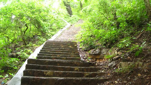 Stairs at Ahobilam
