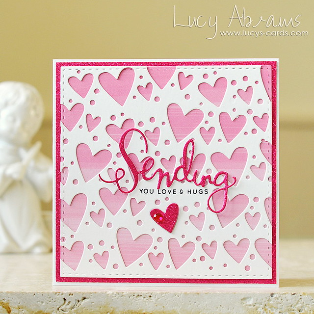Sending Love and Hugs by Lucy Abrams