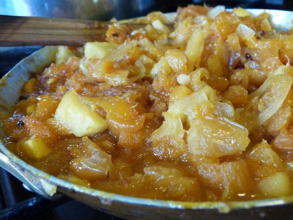 chutney abricots