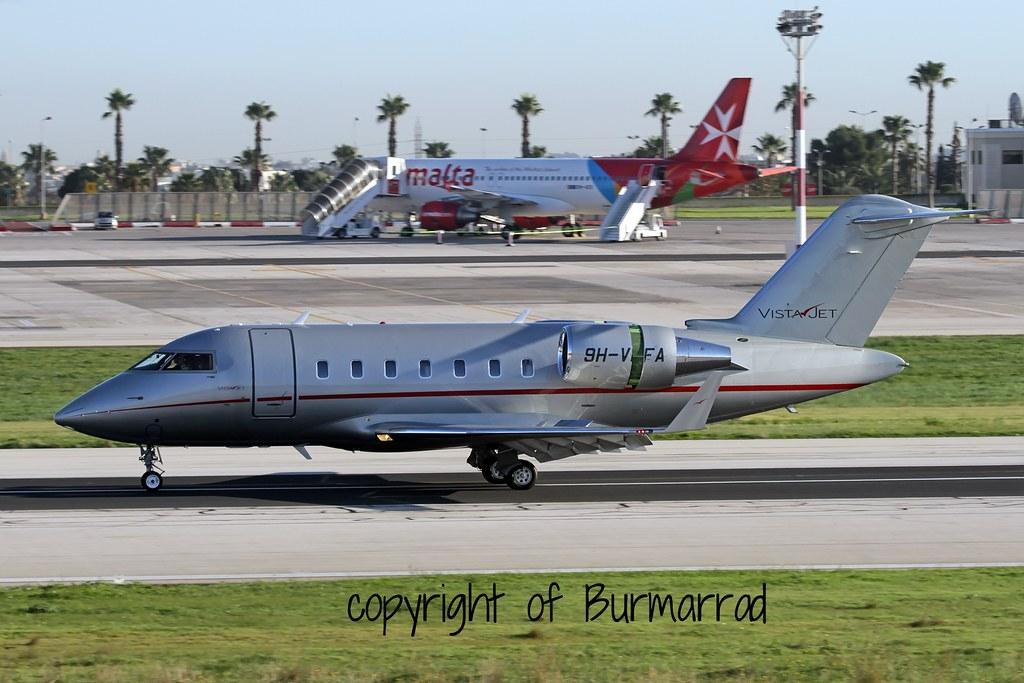9H-VFA - CL60 - VistaJet