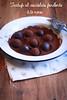 tartufi al cioccolato fondente e tè nero