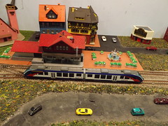 Scale Model Trains, Scale Model Buildings, Greenberg's Train and Toy Show, Edison, New Jersey