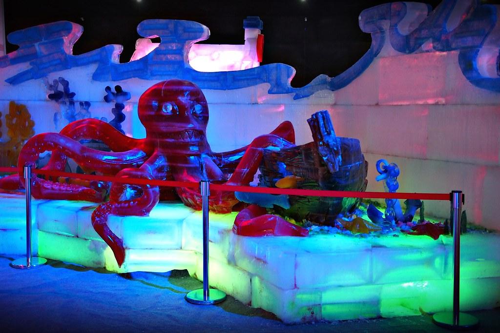 台中高鐵-2015正宗哈爾濱冰冰燈冰雕展-42