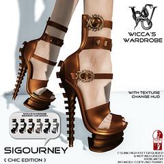 Wicca\'s Wardrobe - Sigourney Heels [Chic Edition]