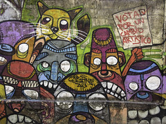 Street art @ Casco Viejo, Panama City by INSANO
