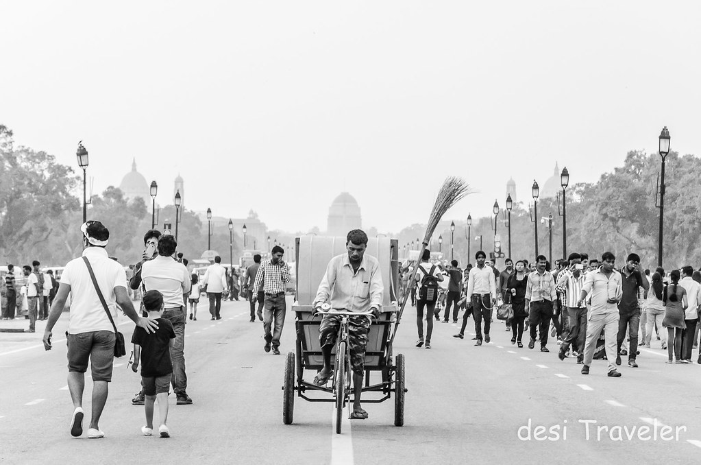 People Rajpath President Estate