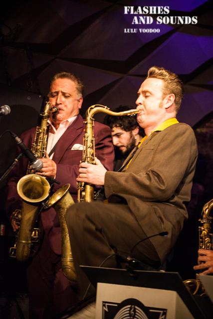 Ray Gelato & Barcelona Big Blues Band feat Sax Gordon, Dani Nel·lo & Dani Pérez02