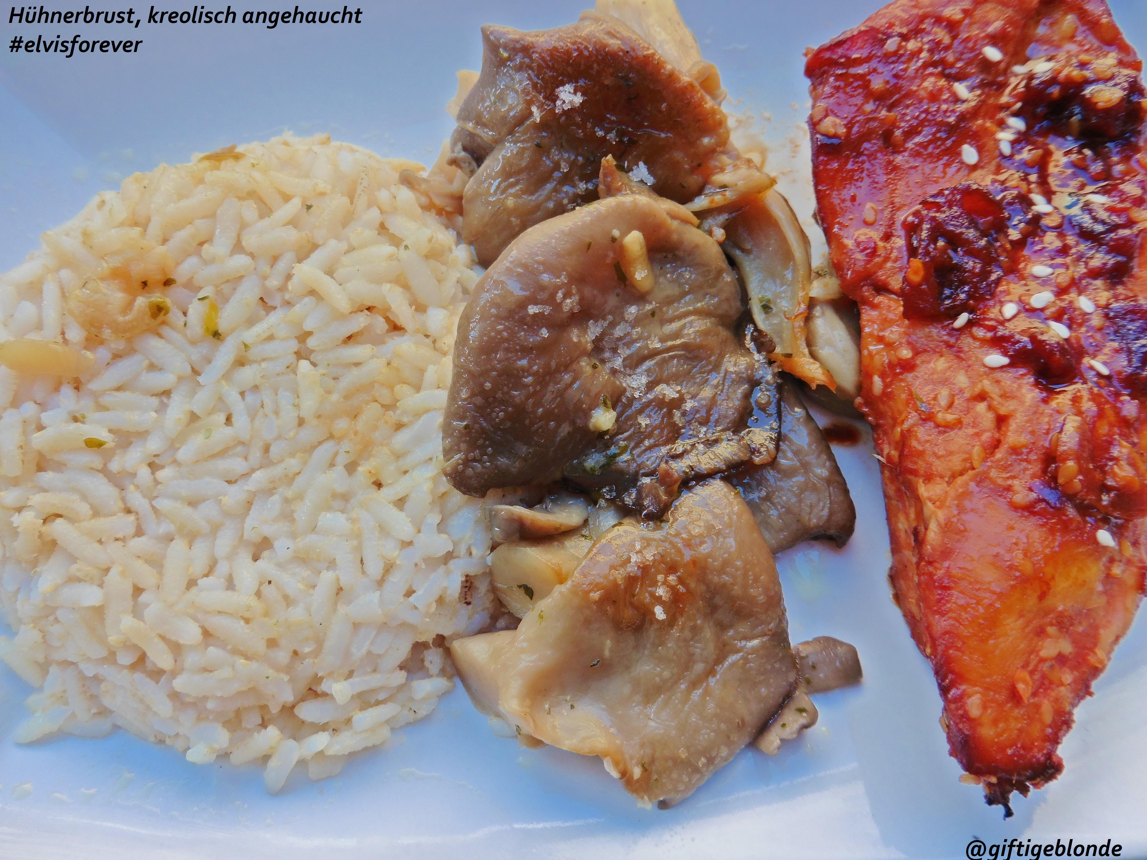 Hühnerbrust, kreolisch angehaucht #elvisforever