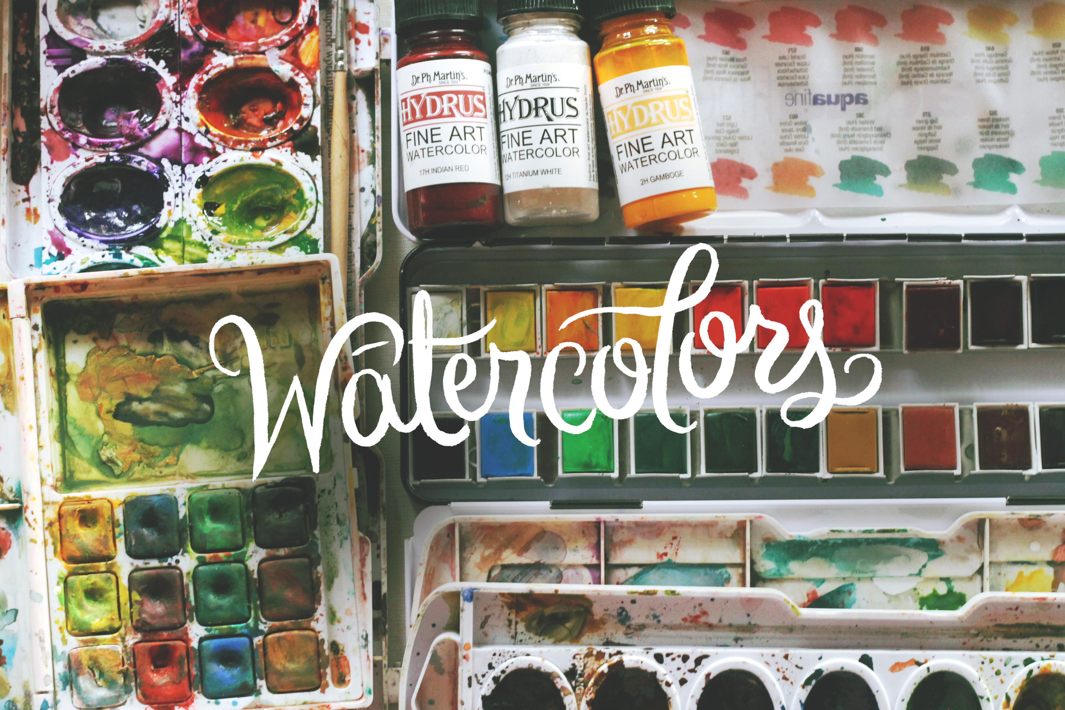 02 Watercolors