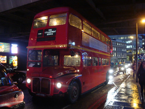 Ensignbus RML2588 on Canada Water-Waterloo Supplement, London Bridge