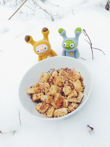 sesame seeds tofu