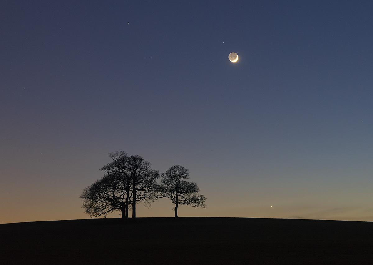 Mars Venus Amp Moon Llanfaes Anglesey Flickr Photo