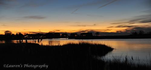 sunset sky nature md nikon maryland tilghman waterscape catchycolorsorange tilghmanisland talbotcounty knappsnarrows d700 laurensphotography lauren3838photography