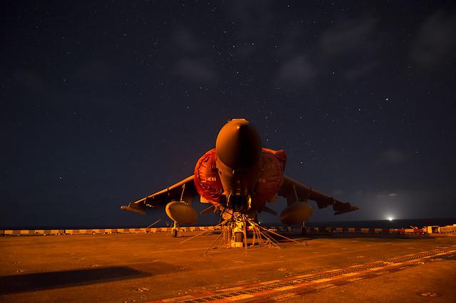 Nighttime at Sea