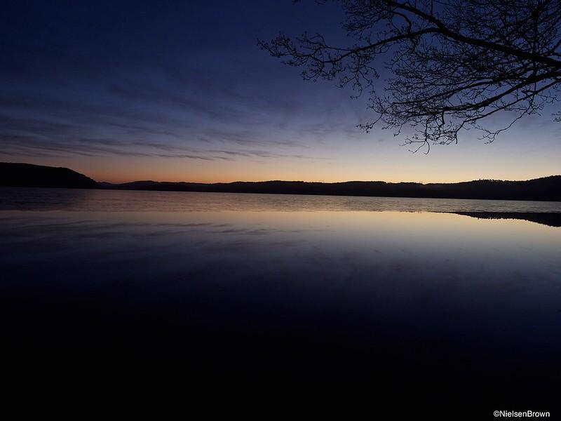 Early Morning Stora Hornsjön-imp