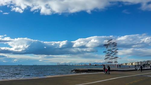 sea sky clouds samsung greece macedonia galaxy thessaloniki s3 timeless μακεδονια