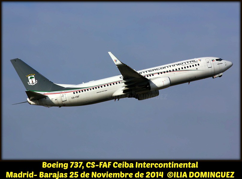 CS-FAF - B738 - Ceiba Intercontinental