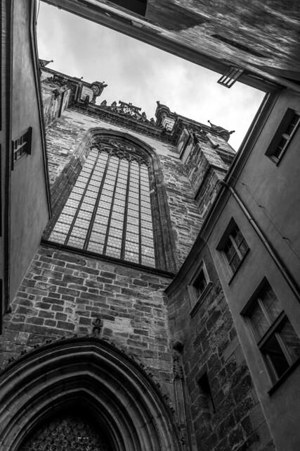 Czech Republic - Prague - Old Town (Staromestské námestí) - Tyn Church (Tynsky chrám)