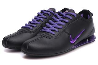 official photos 91da7 c3e84 chaussures nike shox r3 femme (noir pourpre)