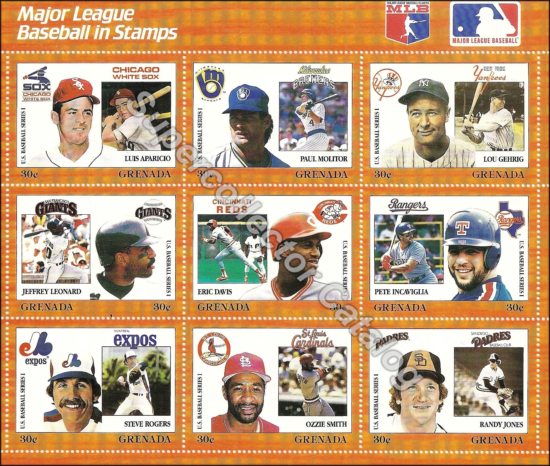 1988 Grenada Stamp Sheet