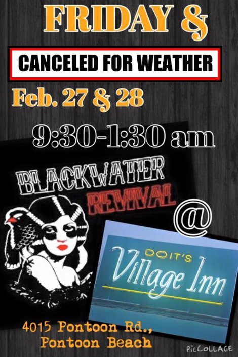 Blackwater Revival 2-27, 2-28-15