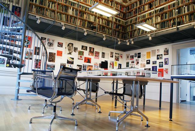Bibliothèque de la FOAM à Amsterdam