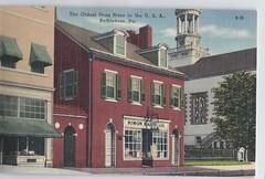 1174073  U. S. Bethlehem Pennsylvania Jewish Simon Rau Drug Store