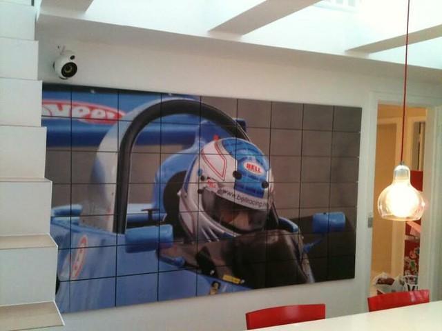 F1 Racing Poster
