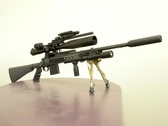 weapon, rifle, machine gun, firearm, gun, gun barrel, sniper rifle,
