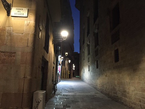 Old town Barcelona