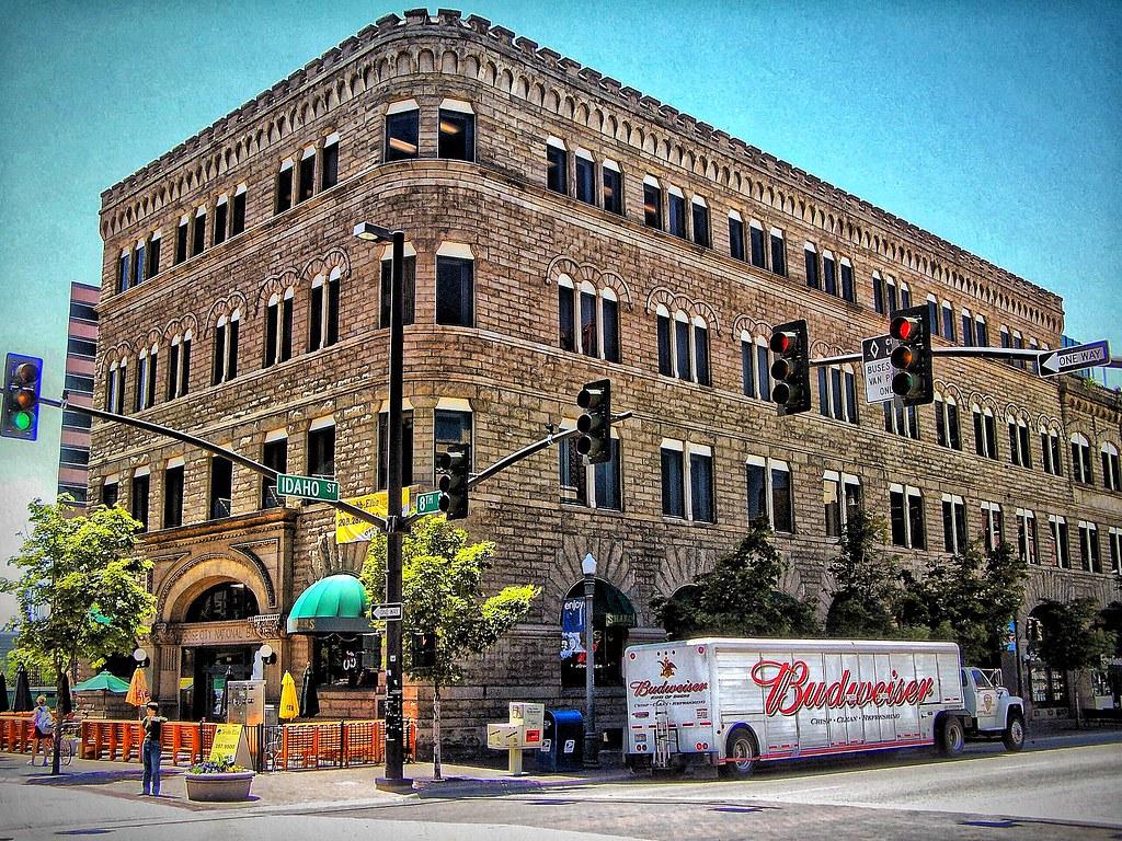 Boise Idaho ~ Boise City National Bank Building ~ Historic Building