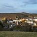 Abendsonne über Burg Hohenstein im Untertaunus