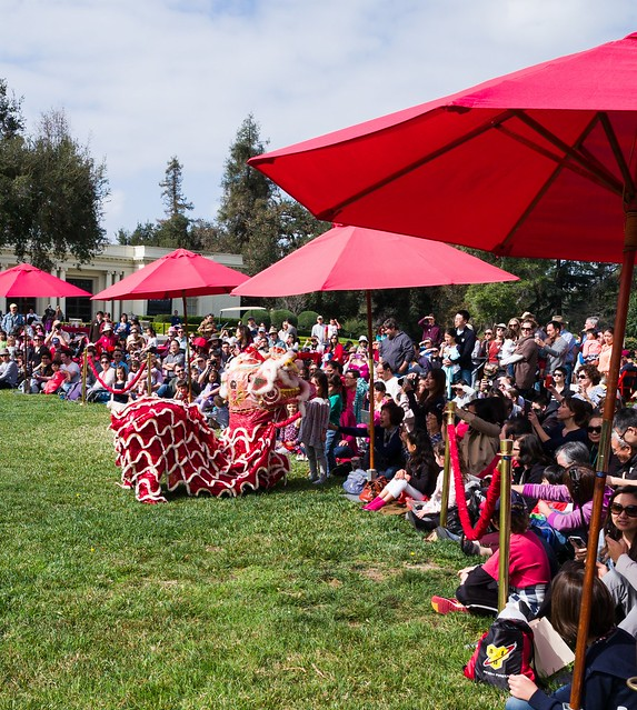 Chinese New Year at the Huntington Gardens