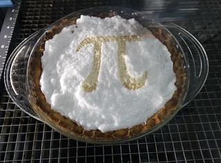 Laser + Pie = π