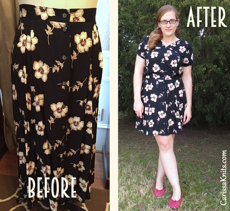 Kimono-esque Dress - Before & After
