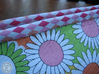 Touch of Spring- cosmetic bag- a binding