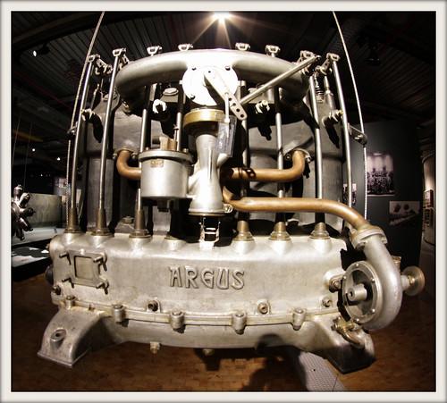 ARGUS Flugzeugmotor