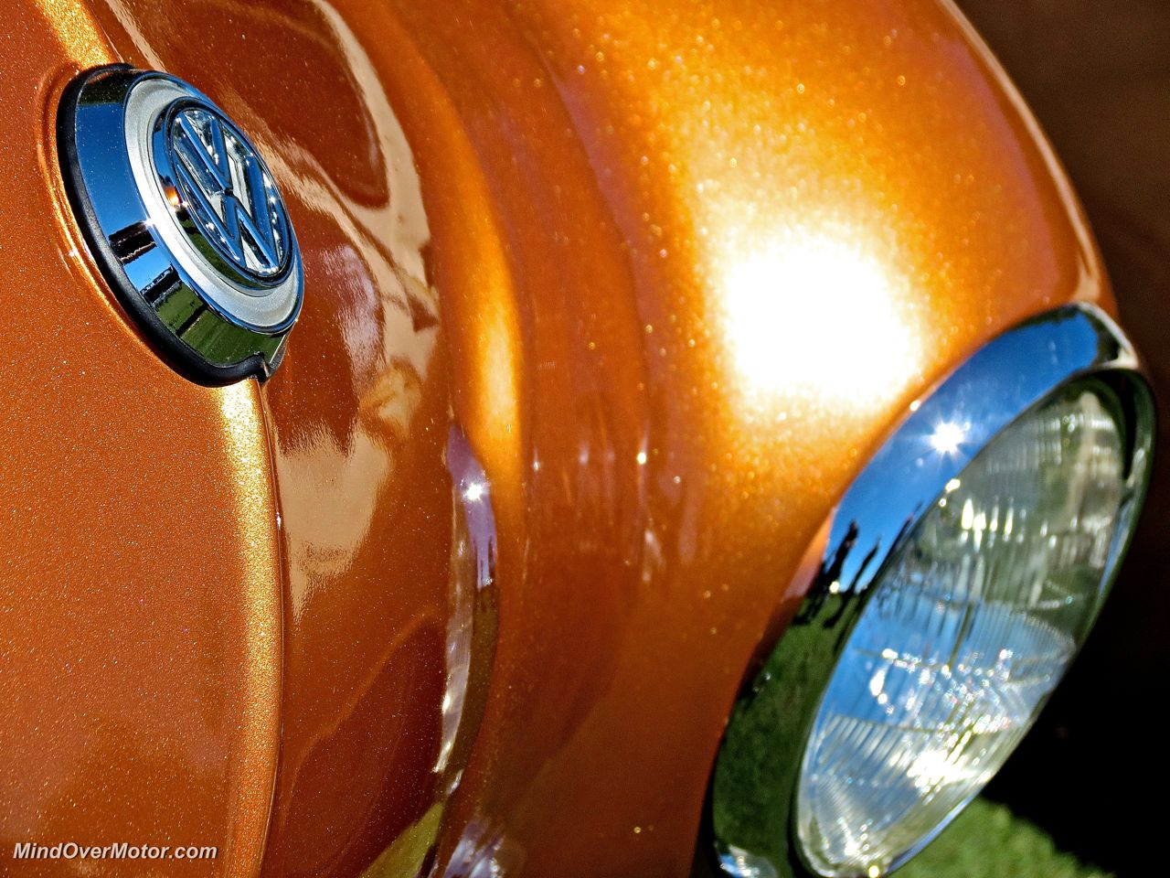 Karmann Ghia VW Badge