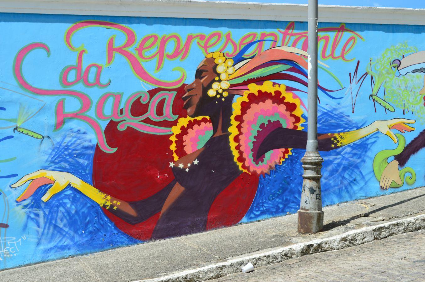 street art around Joao Pessoa