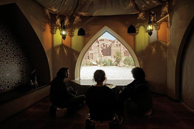 Erwin Hymer Museum Marokko Innenseite
