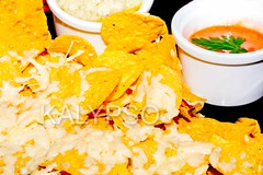 Delicious classic Guacamole with tortilla chips, T…